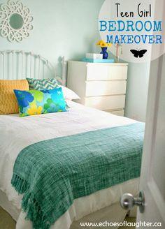 DIY::: Beautiful Pre Teen/ Teen Girl Budget Bedroom Makeover ! Full Tutorial ! So Many Fun Easy Ideas !