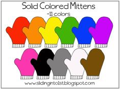 solid mittens clipart (11 images)