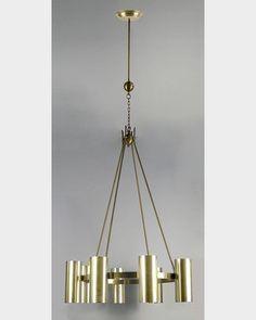 Art Moderne chandelier (ahl2779) | Remains.com