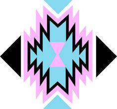 Aztec Art Print by Whitney Werner | Society6