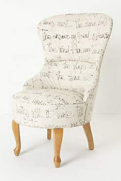 would be fun to DIY this idea from anthropologie with a favorite poem or book excerpt.