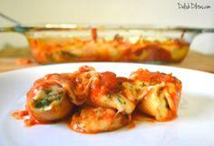 Sausage, Spinach and Artichoke Stuffed Shells