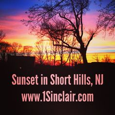 Stunning Center Hall Colonial in #ShortHillsNj for $3mm. The value of the sunsets from the terrace? #Priceless www1Sinclair.com @Towne Realty Group