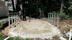 Florance resin pool build