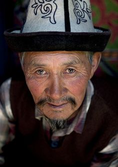 Man from Kyzart River, Kyrgyzstan