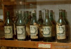rare bottle of wine, liquors  and drink mixes from Hearst's private vault.
