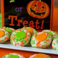 Recipe Submitted By: A Family Feast Click on the link below for the Halloween Thumbprint Cookies Recipe!  Halloween Thumbprint Cookies