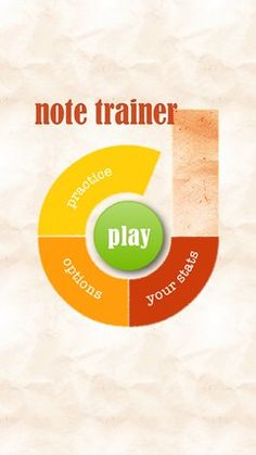 Note Trainer // 86% of piano teachers consider sight reading to be the most important skill. Now Note Trainer makes sight reading practice fun! Move away from rote memorization techniques and learn how to read music notes in a natural and engaging way. Note Trainer increases in speed and difficulty over time so that you can quickly learn to read music effortlessly.