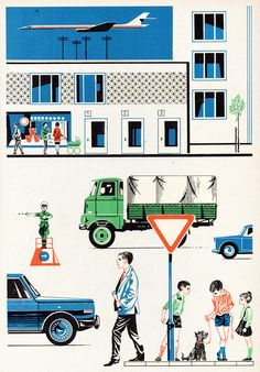 graphic, airports, better, art, hand drawn, math books, vintag illustr, design, vintage style