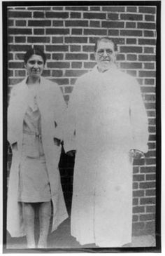 """Mary Mallon is also known as Typhoid Mary. From 1901-1907, she cooked for a number of families spreading Typhoid throughout N.Y. In 1907 she was quarantined, but was released in 1910 under the condition that she never again work as a cook. In 1915, an outbreak of typhoid fever was traced to a hospital cook: """"Mrs. Brown."""" This turned out to be Mary Mallon cooking under an assumed name. She was immediately sent back to North Brother Island, where she was forced to remain for the rest of her life."""