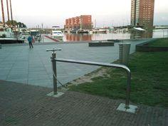 Bikestand with pump