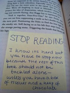 Some books need this warning.