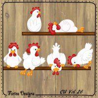 chickens #fariesdesigns