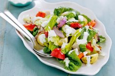 Chicken and potato salad with yoghurt and dill dressing main image
