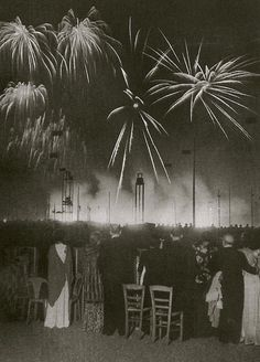 nuit de longchamps, paris, brassai, 1936