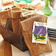 Flower Seed Packets || Better Homes and Gardens