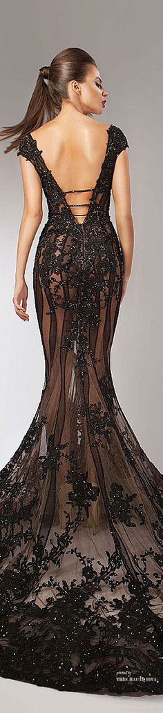 Glamour Gowns...Hanna Toumajean Couture Fall Winter 2014-15 ♔ THD