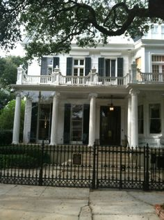 You don't need a guide. Walk through the garden district to see all of the historic homes and breath taking architecture. A must see! #hometownpins #neworleans
