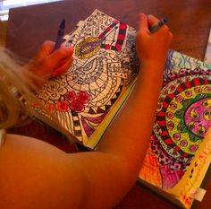 journal idea, writers notebook, cover books, summer art, sleepyhead design, journal art, art journals, doodl, design studios