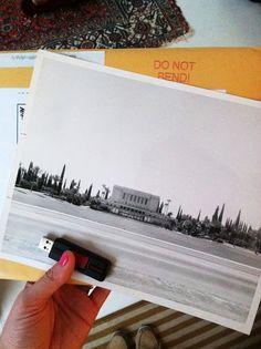 large b/w prints - cheap