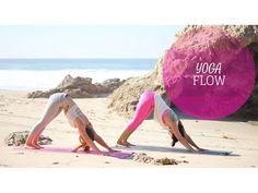 Flow Yoga Core & Balance Workout: Beginner Yoga Poses - YouTube