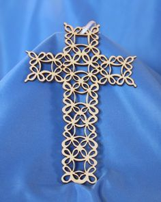 Filigree Wooden Cross