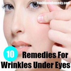 Wrinkles Under Eyes