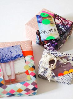 Gifts with magazine tags