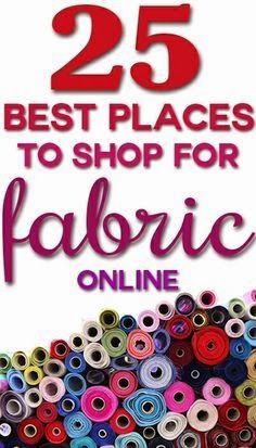 Best DIY Projects: 25 best places to shop for home decor fabric online
