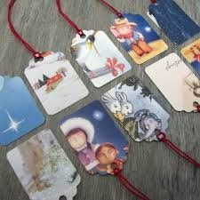 Save holiday cards and use your tag punch for next years to/from gift tags! Way cuter than what I've been doing!!
