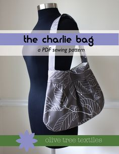 purse pattern PDF // the charlie bag // SALE by olivetreepatterns