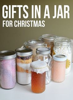 LOTS and lots of Gifts in a Jar ideas!