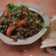 Ground Lamb and Peas in Yogurt Recipe | SAVEUR