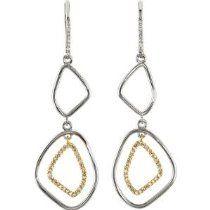 14K Yellow Drop Dangle Earrings Pair 1/3 Ct Tw Diamond Drop Dangle Earrings 14k yellow, yellow gold, dangl earring, diamonds, earring pair, dangle earrings, yellow drop