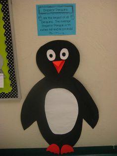 make a life-sized penguin :)