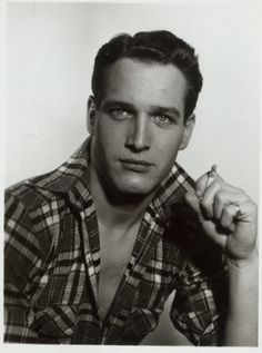 """Paul Newman- iconic style and class. very charitable, generous and influenced many of todays popular """"stars"""", but not necessarily at PN's level. A man's man and woman loved him too..he invented modern movie magic with many classic, and funny performances.Huge star, even bigger style..and lifestyle. paul newman, peopl, celebr galleri, men hair, vintage hair, star, paulnewman, hollywood, actor"""