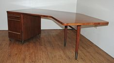 Mid Century Modern desk by Stow & Davis from 1961 by InTheBigShed, $1800.00