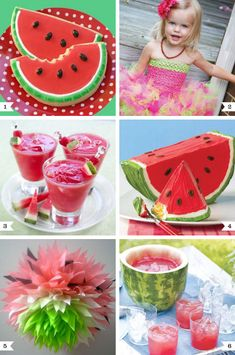 Watermelon Themed Party!