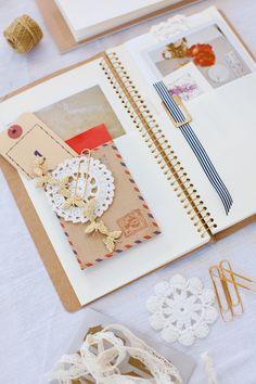 Notebook from A Creative Mint blog
