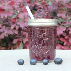 Blueberry Superfood Smoothie Recipe ( banana free!)