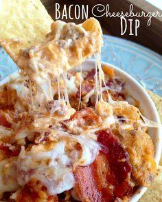 Bacon Cheeseburger Dip Recipe - Love with recipe