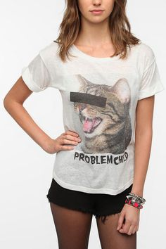 Problem Child #cat #urbanoutfitters