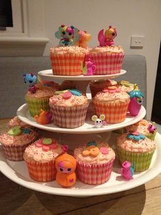 Lalaloopsy cupcakes for emma