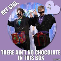Saturday Night Live: D*ck in a Box / Andy Samberg & Justin Timberlake / Valentine's Day
