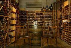 Bourbon tasting room