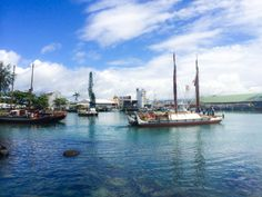 The Hokulea and Hikianalia depart for Tahiti in the first leg of their historic journey. May 30, 2014.