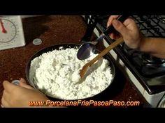 Como Hacer Porcelana Fria (1de2) - How to make cold porcelain
