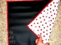 DIY chalkboard placemats!