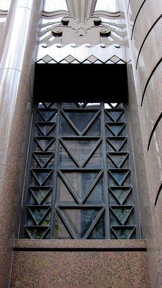 Delfin (Aft) House, 16-18 O'Connell Street, Sydney. Architect: C Bruce Dellit. Built: 1940.