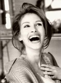 Smile a lot. Light up the room. Bring something good to other people with your presence. It is better to be engaging, honest, and magnetic than loud and snarky. #grace #julia #roberts #joy